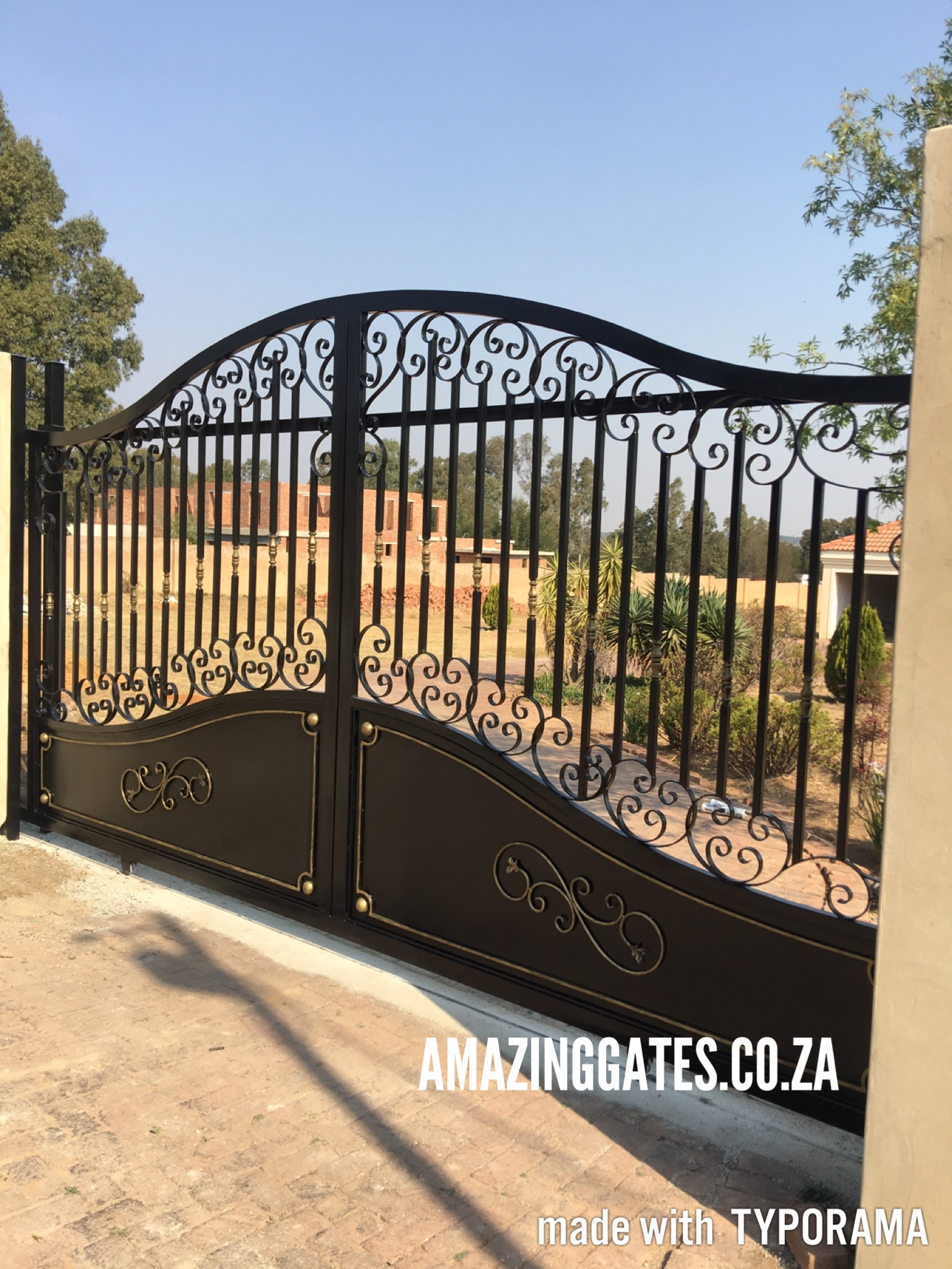 South Africa Designed Wall Of Gates